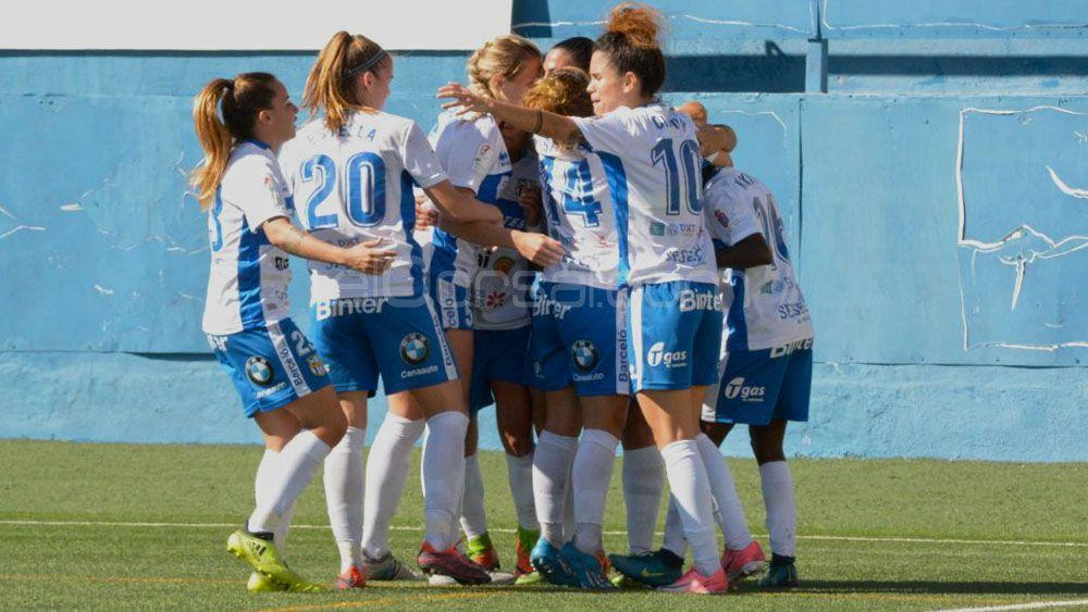 Sara Tui anotó el gol más rápido en la historia de la UDG Tenerife, ¡tan solo 20 segundos!