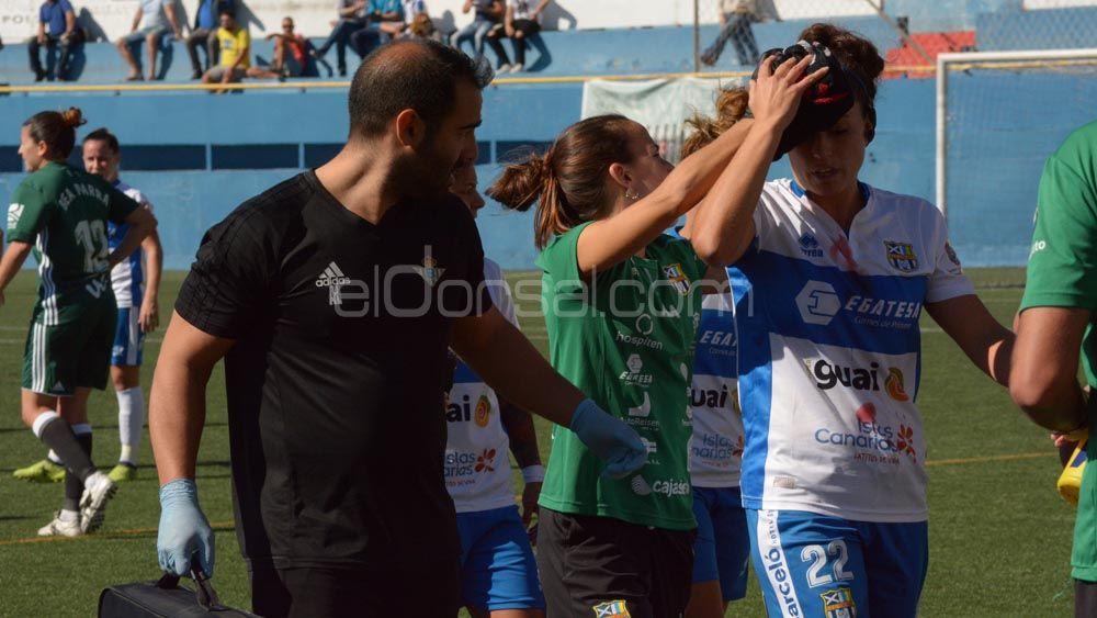 La derrota de la UDG Tenerife ante el Real Betis, en imágenes