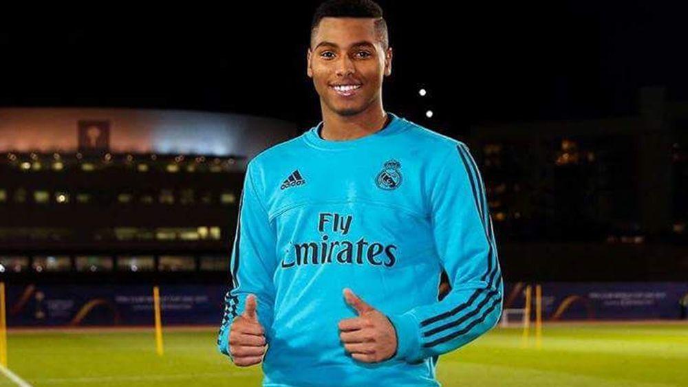 Moha Ramos entrena a tope con el Real Madrid en Abu Dhabi