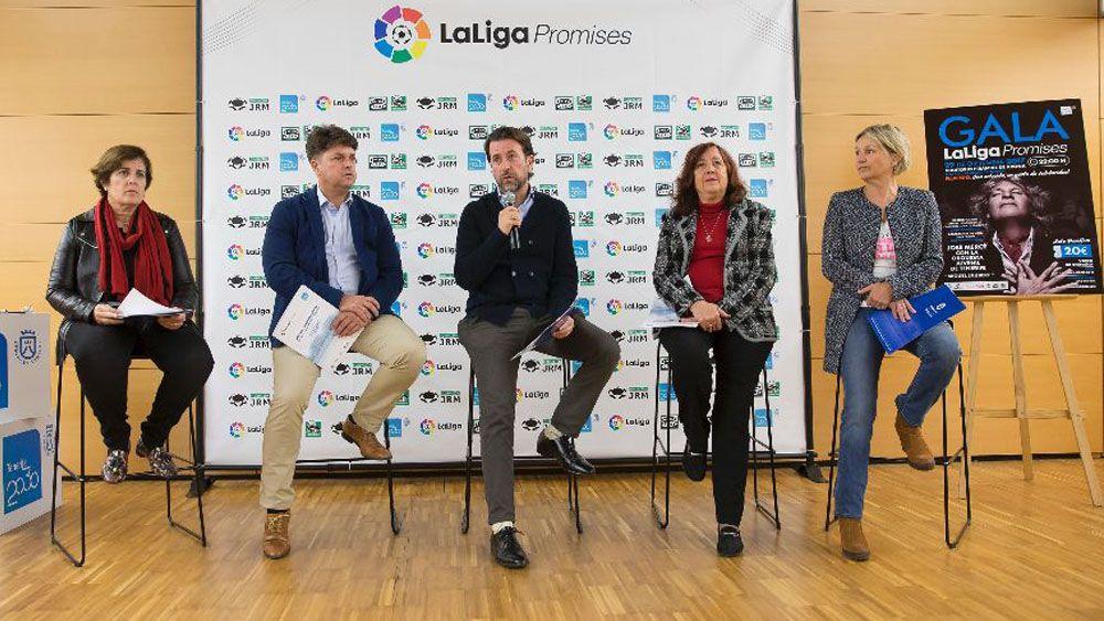 Presentada la Gala Benéfica de LaLiga Promises de Tenerife 2017