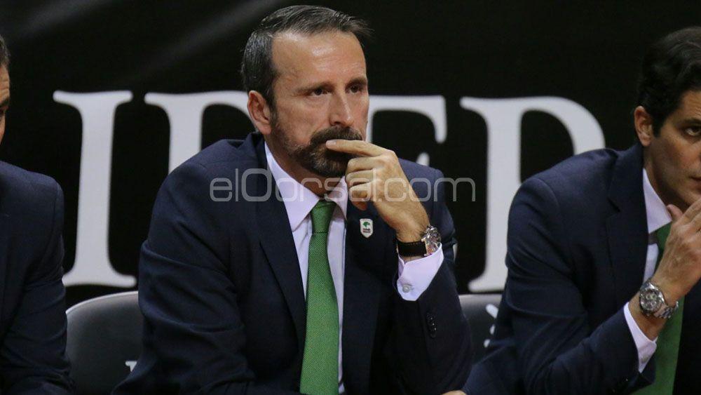 """Joan Plaza: """"Me dio la sensación de que ante el Iberostar Tenerife llegábamos tarde en defensa"""""""
