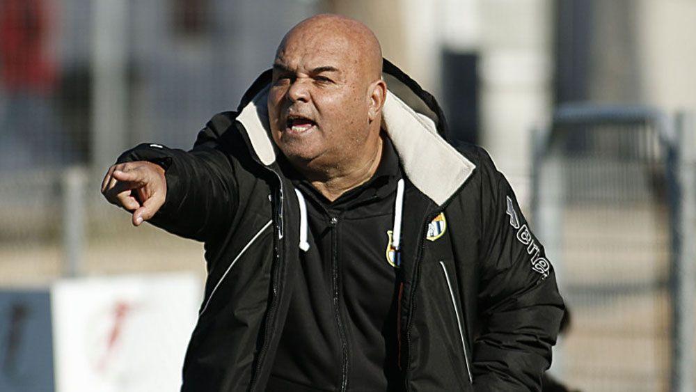Toni Ayala apela a la ayuda divina para que la UDG Tenerife vuelva a ganar