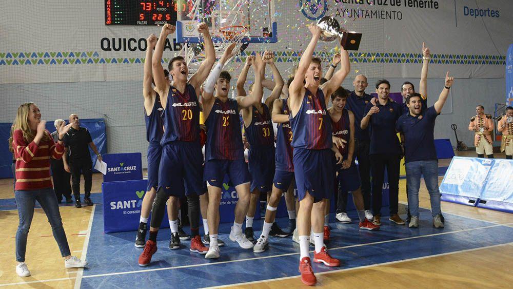 El FC Barcelona, campeón del XXI Torneo Junior Ciudad de Santa Cruz de Tenerife