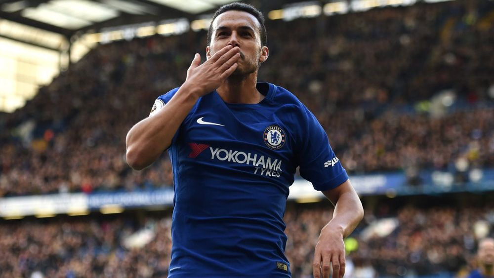 Pedro, a tres pasos de un nuevo título con el Chelsea