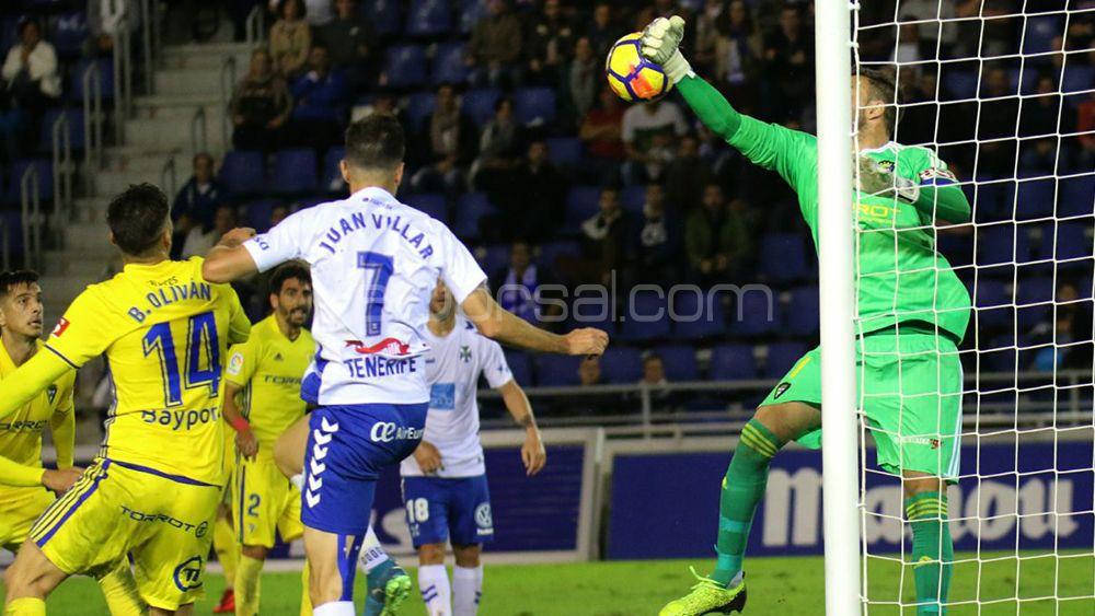 Los jugadores del CD Tenerife destacan la constancia del equipo para empatar