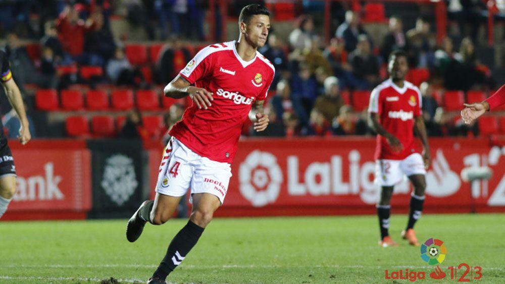 Maikel Mesa, de golazo en golazo con el Nástic de Tarragona