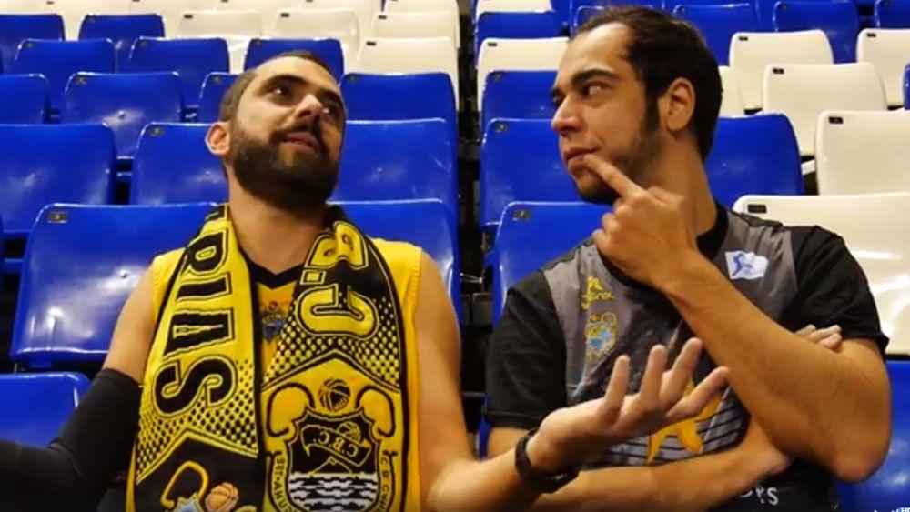 Aarón Gómez y Víctor Hubara, 'preparados' para el derbi entre Iberostar Tenerife y CB Gran Canaria