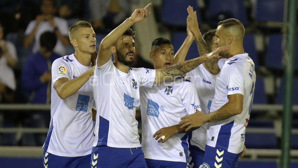 El CD Tenerife, quinto mejor equipo de Segunda División en 2017