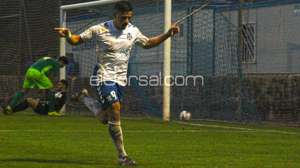 El CD Tenerife B arranca la segunda vuelta con una buena victoria