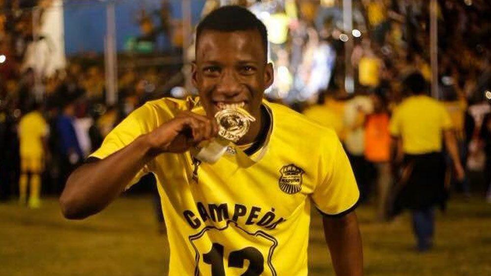 El ex del CD Tenerife Darixon Vuelto, campeón del Torneo Apertura de la liga hondureña