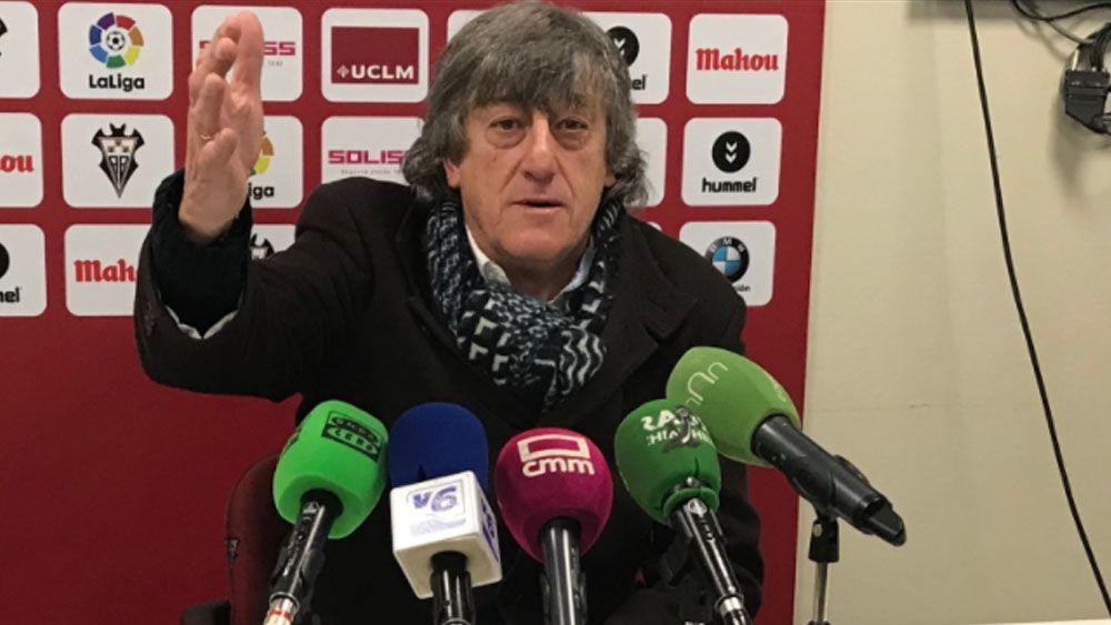 entrenador albacete