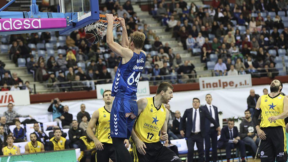 Iberostar Tenerife ofrece su peor versión ante el Gipuzkoa Basket