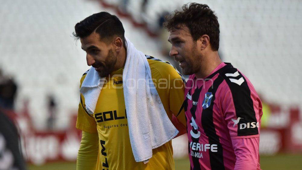 Los jugadores del CD Tenerife, liberados de la presión de no ganar a domicilio