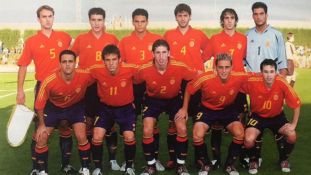 La inolvidable selección española Sub-21 de Iñaki Sáez y Vitolo