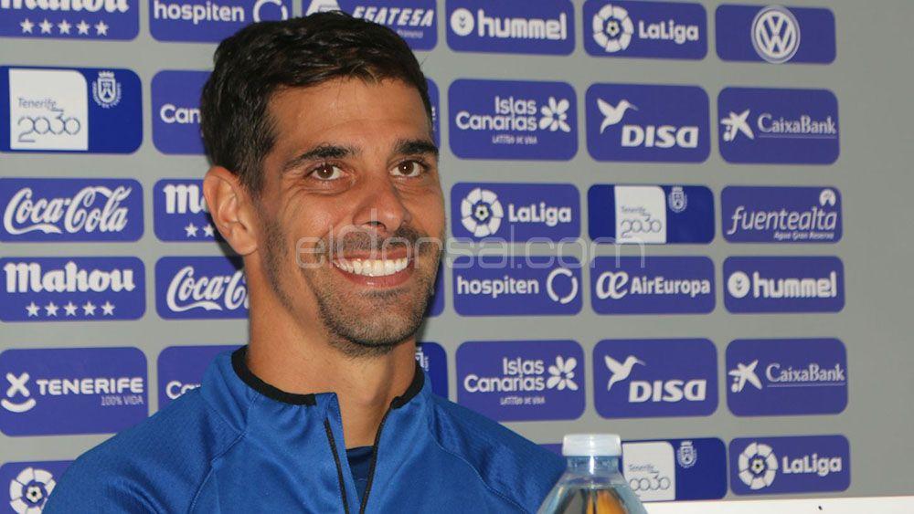 """Dani Hernández: """"El CD Tenerife tendrá que saber sufrir, y aprovechar la pegada ante Osasuna"""""""