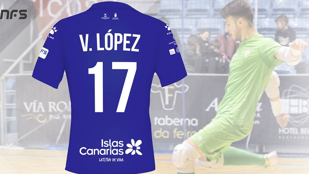 Víctor López, nuevo portero del Iberia Toscal