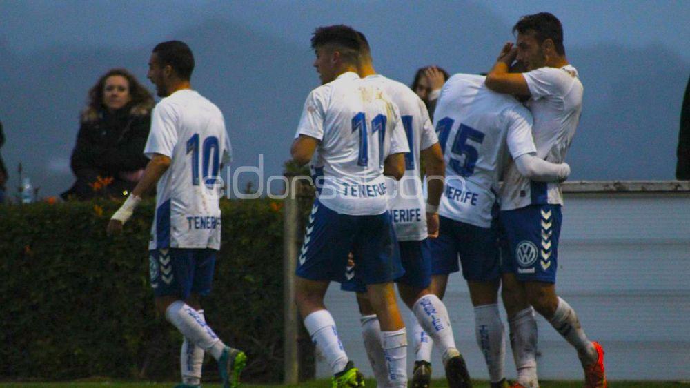 Reacción de líder de un CD Tenerife B que acaba goleando en Geneto