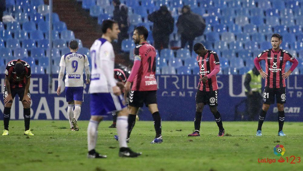 Camille y Alberto lamentan las ocasiones erradas por el CD Tenerife