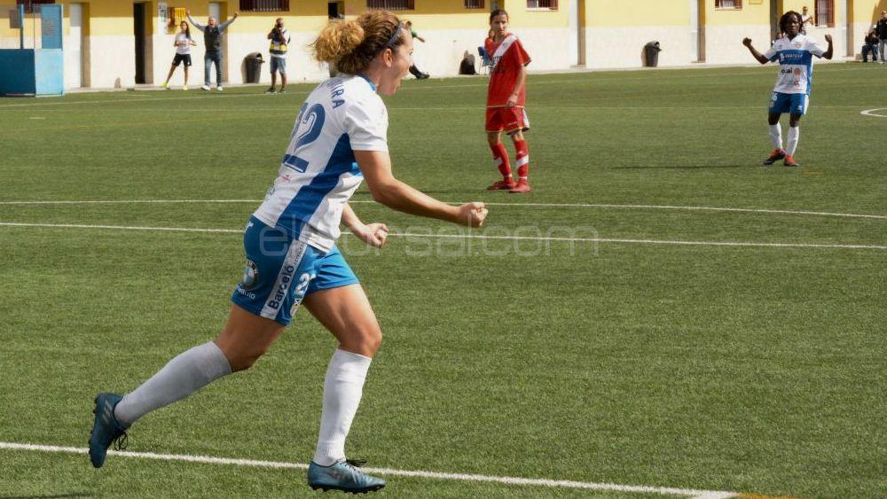 Gavira y Koko, claves en el triunfo de la UDG Tenerife ante el Rayo Vallecano