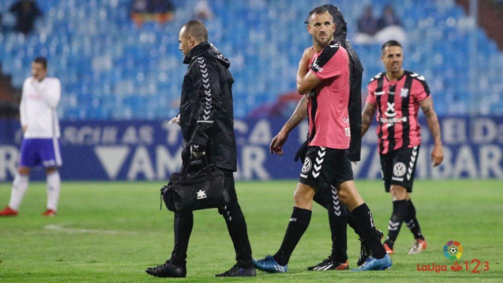 Aveldaño no volverá a jugar con el CD Tenerife hasta febrero