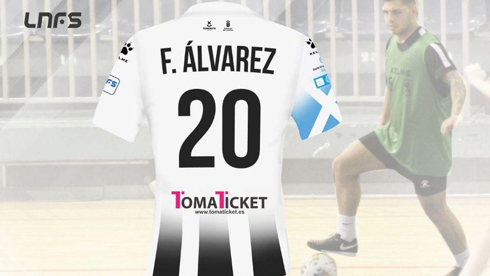 El tinerfeño Fer Álvarez, nuevo jugador del Iberia Toscal