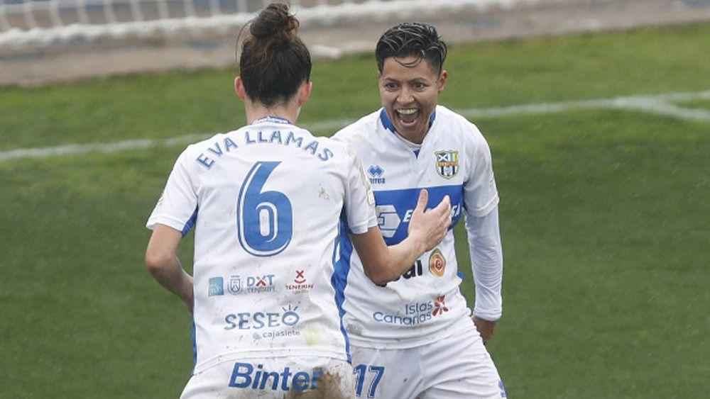 Un gol de María José congela Buñol y aúpa a la UDG Tenerife a la cuarta posición