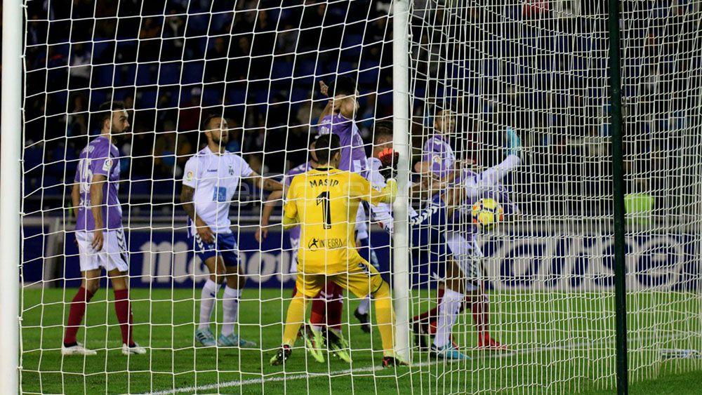 Masip impide al CD Tenerife reencontrarse con la victoria en el Heliodoro