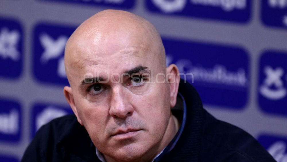 """Sampedro: """"El punto conseguido ante el CD Tenerife es maravilloso"""""""