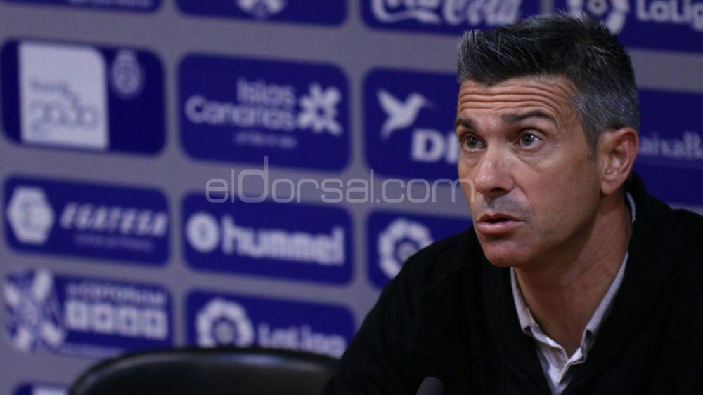 """Martí: """"Todo lo que no sea ganar, al CD Tenerife le pasará factura"""""""