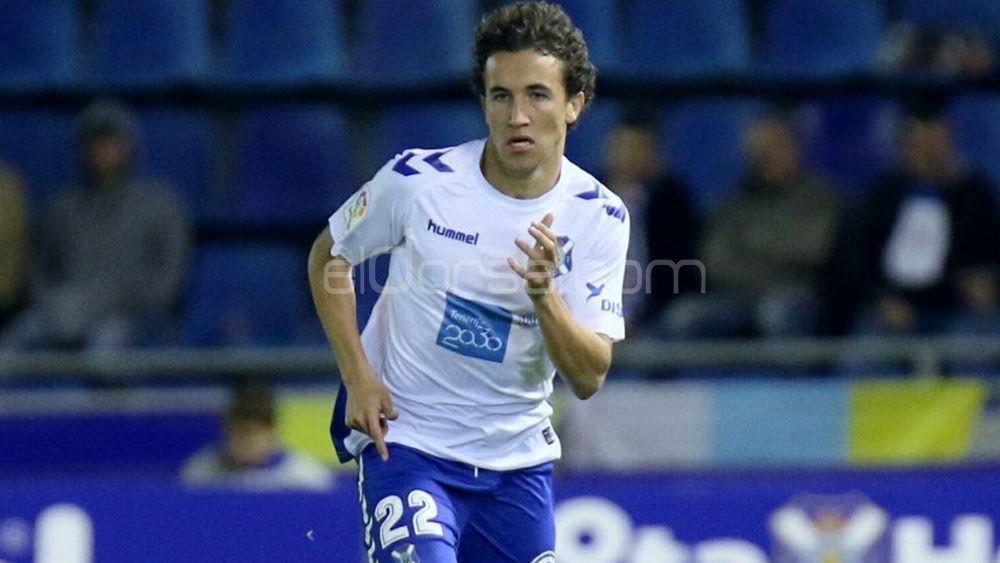 Buena actuación de Luis Milla en su debut con el CD Tenerife