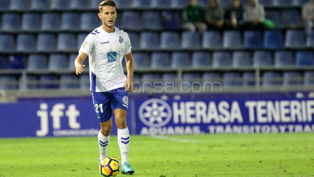 Jorge Sáenz pasa a ser transferible en el CD Tenerife