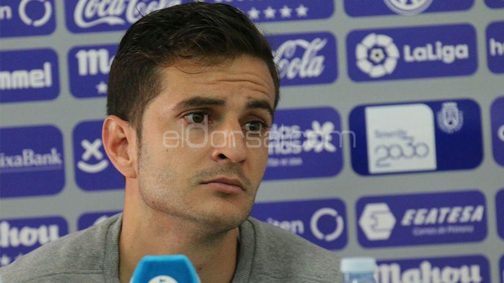 """Villar espera tener en Osasuna la continuidad que no tuvo en el CD Tenerife, """"por cosas que pasaron"""""""