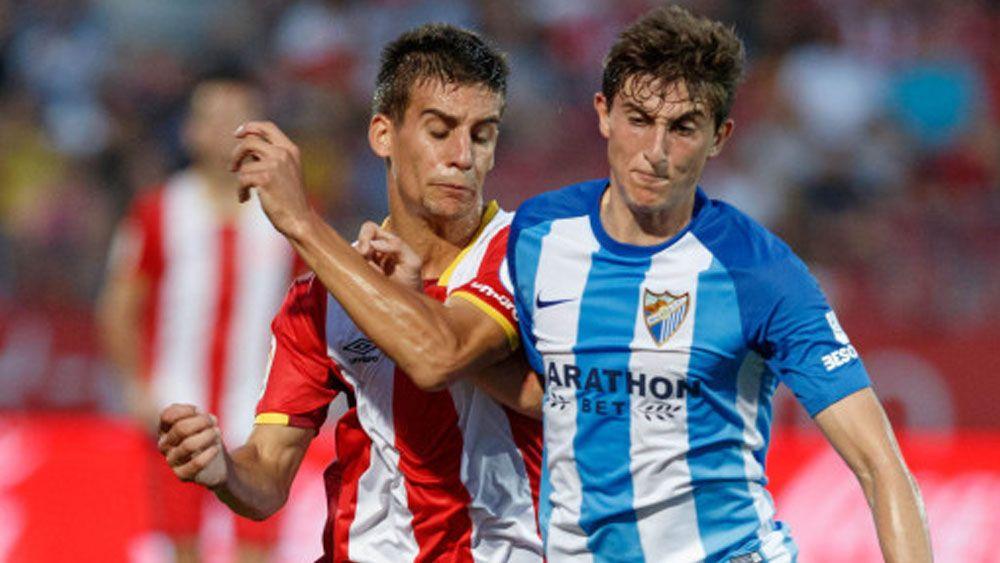 Álex Mula, del Málaga CF, el hombre de banda elegido por el CD Tenerife