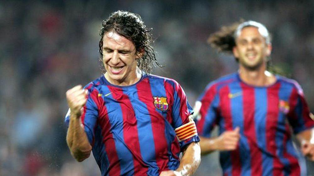 El día que Carles Puyol 'se vistió' de delantero ante el CD Tenerife