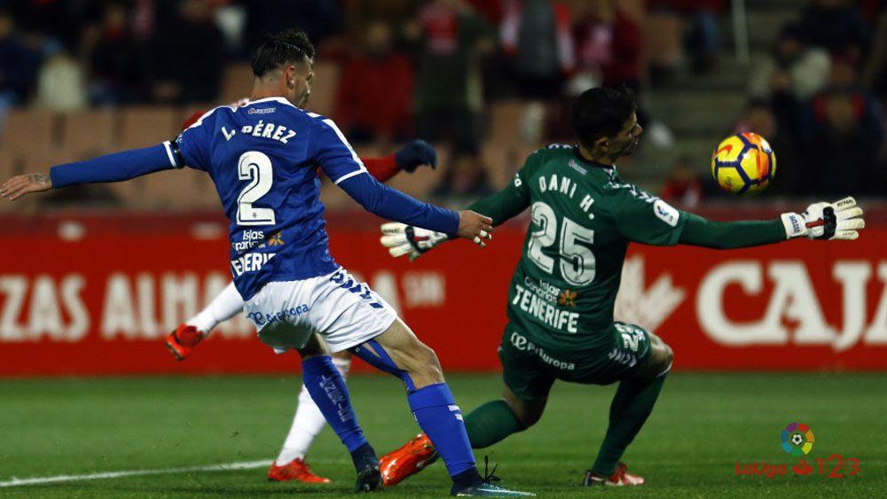 ¿Quién fue el mejor jugador del CD Tenerife en Granada?