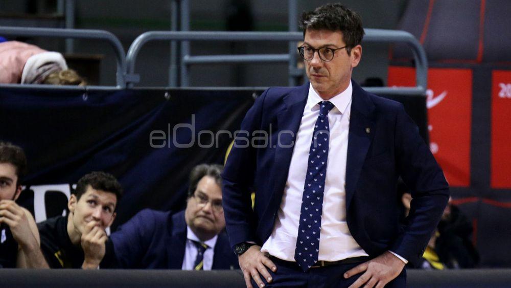 """Katsikaris: """"Ha sido la victoria más importante del Iberostar Tenerife hasta ahora"""""""