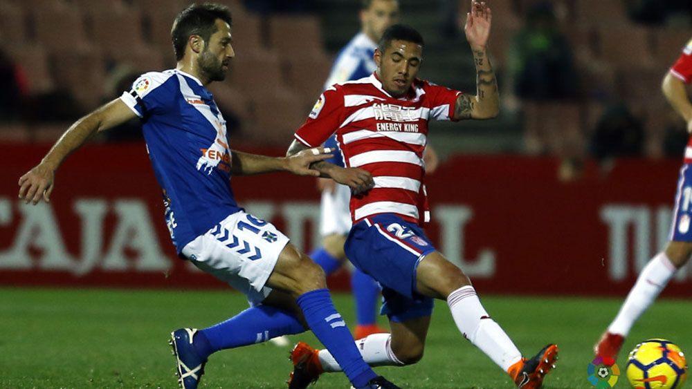 Los zapatazos de Machís y Peña que impidieron al CD Tenerife sacar puntos de Granada