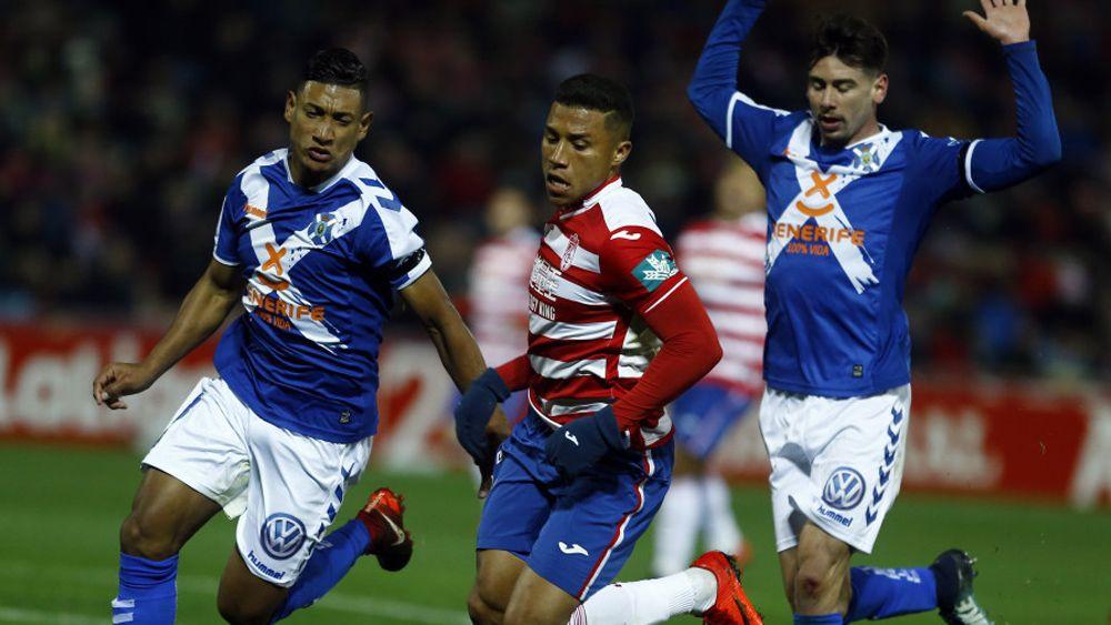 El uno por uno de los jugadores del CD Tenerife ante el Granada CF