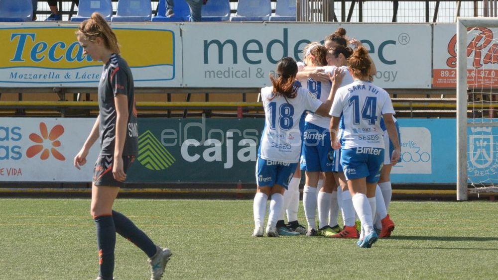 La UDG Tenerife gana al Zaragoza CFF y acecha la tercera posición