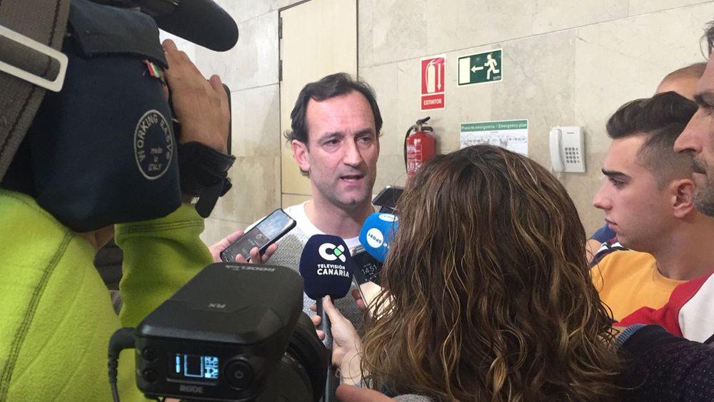 """Etxeberría: """"El CD Tenerife es una gran oportunidad para mí, es un club con mucha historia"""""""
