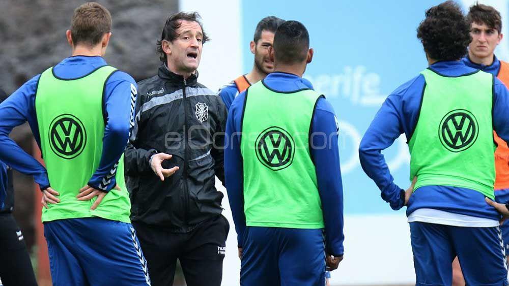 Etxeberría prepara un partido con el CD Tenerife B