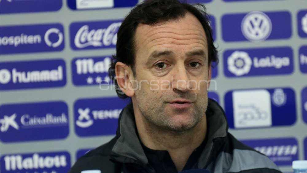 """Etxeberría: """"El CD Tenerife va a dar la cara ante el Huesca, mostrará su mejor versión"""""""