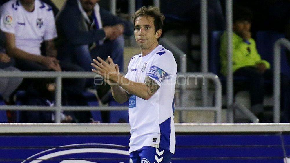 Raúl Cámara, en un partido con el CD Tenerife | @Jacfotografo