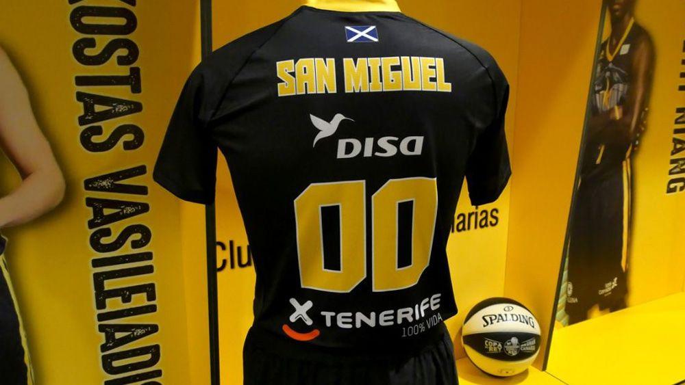 El Iberostar Tenerife estrenará equipación con manga corta en la Copa del Rey