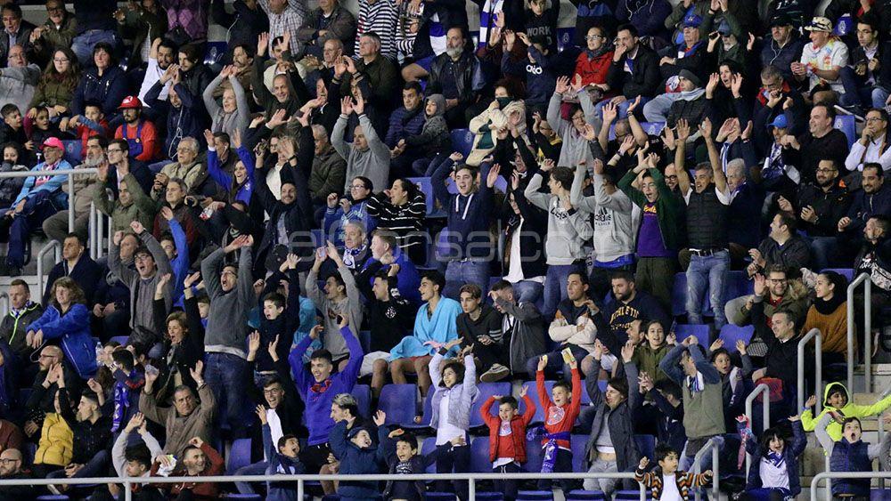 Las cifras de asistencia al Heliodoro, en el TOP 50 del ránking del futbol de plata europeo