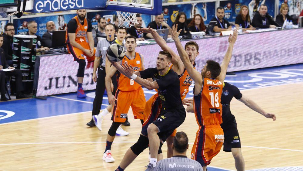 El Iberostar Tenerife, semifinalista de la Copa del Rey por primera vez en su historia