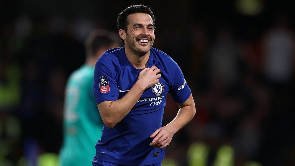 Pedro, a lo 'killer' en la goleada del Chelsea en FA Cup