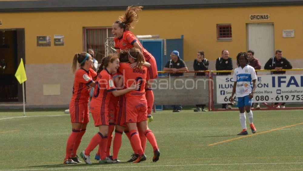 La Real Sociedad castiga a la UDG Tenerife en un aburrido partido
