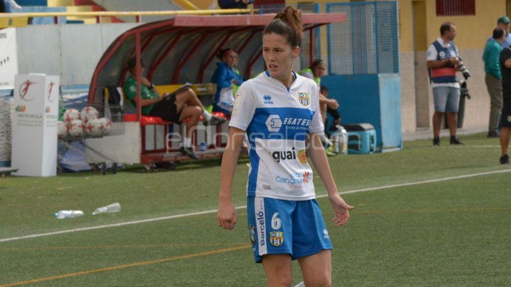 Eva llamas, todo positividad tras la derrota de la UDG Tenerife