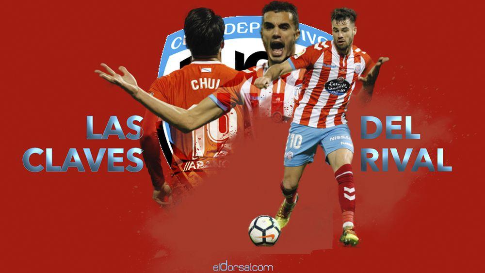 Las claves del rival del CD Tenerife, el CD Lugo